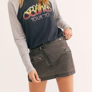 Free People Havana Heat Mini Skirt